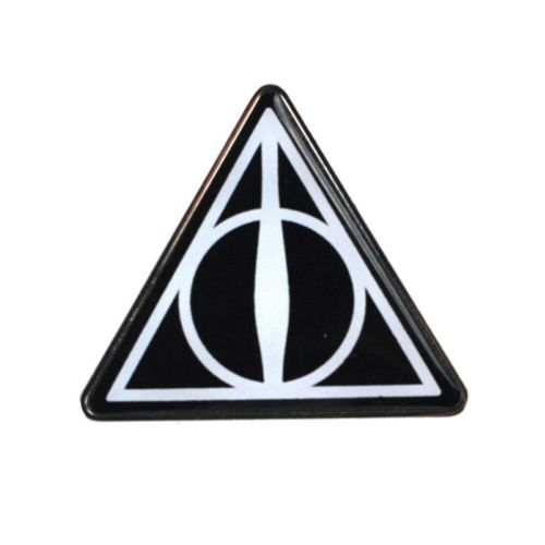 Harry Potter Deathly Hallows Symbol Pin Badge